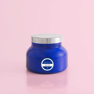 Volcano Blue Petite Jar 8 oz Candle