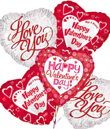 Valentine\'s Day/I Love You Mylar Balloon