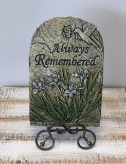 """Always Remembered\"" Stepping Stone"