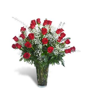 Three Dozen Long-Stemmed Roses